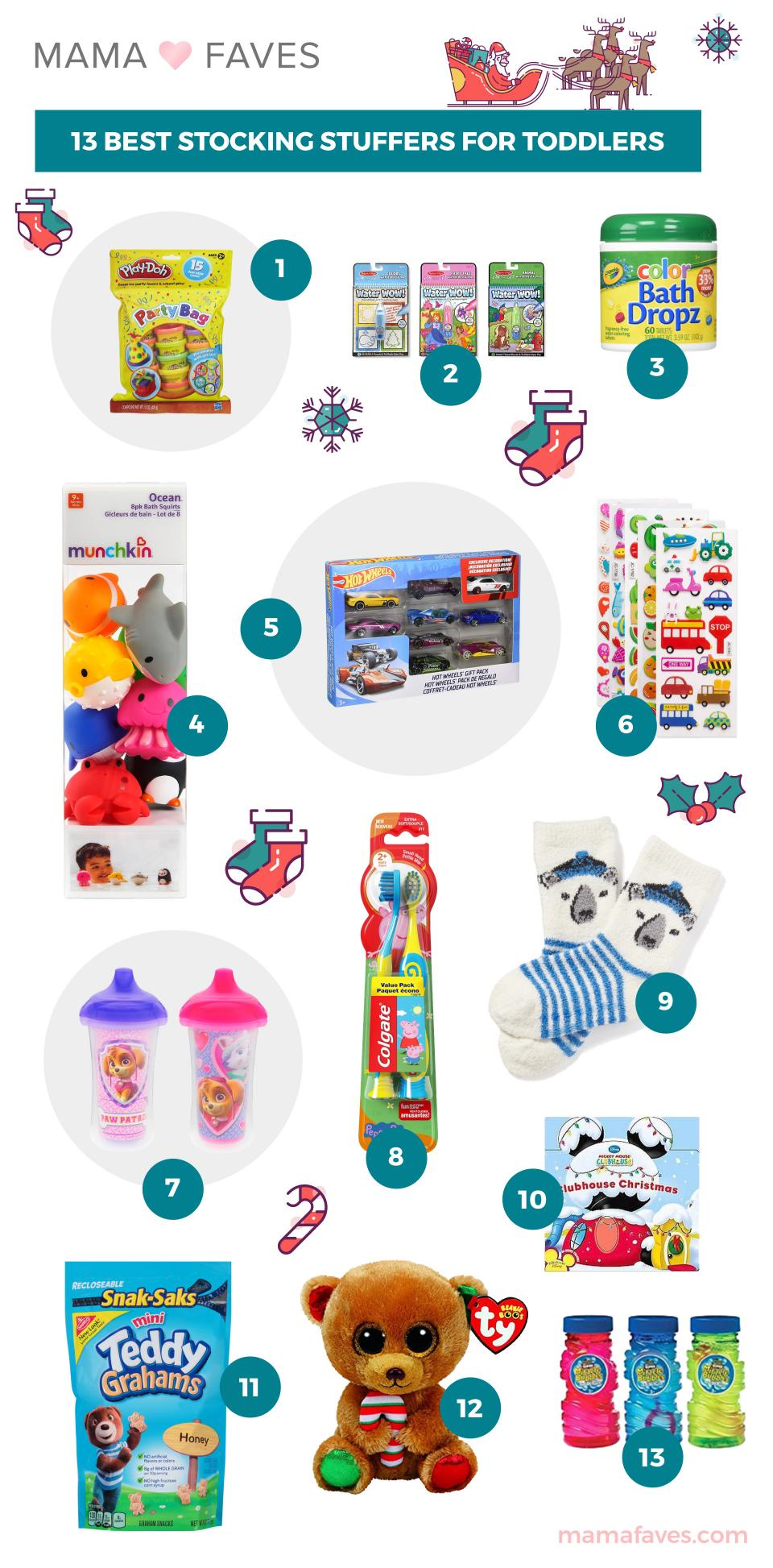 13 Best Stocking Stuffers for Toddlers